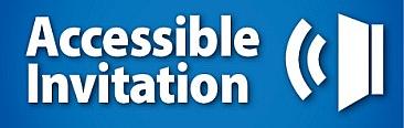 Accessible Invitation