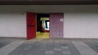 כניסה אחורית