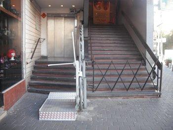 מעלון מדרגות ומעלית מרח. פרישמן