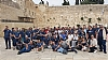 Attendees of the Conference visit the Western Wall