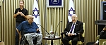 President Reuven Rivlin and Yuval Wagner