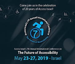 Access Israel's 7th International Conference, May