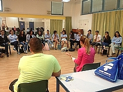 Access Israel in a lecture in elementary school