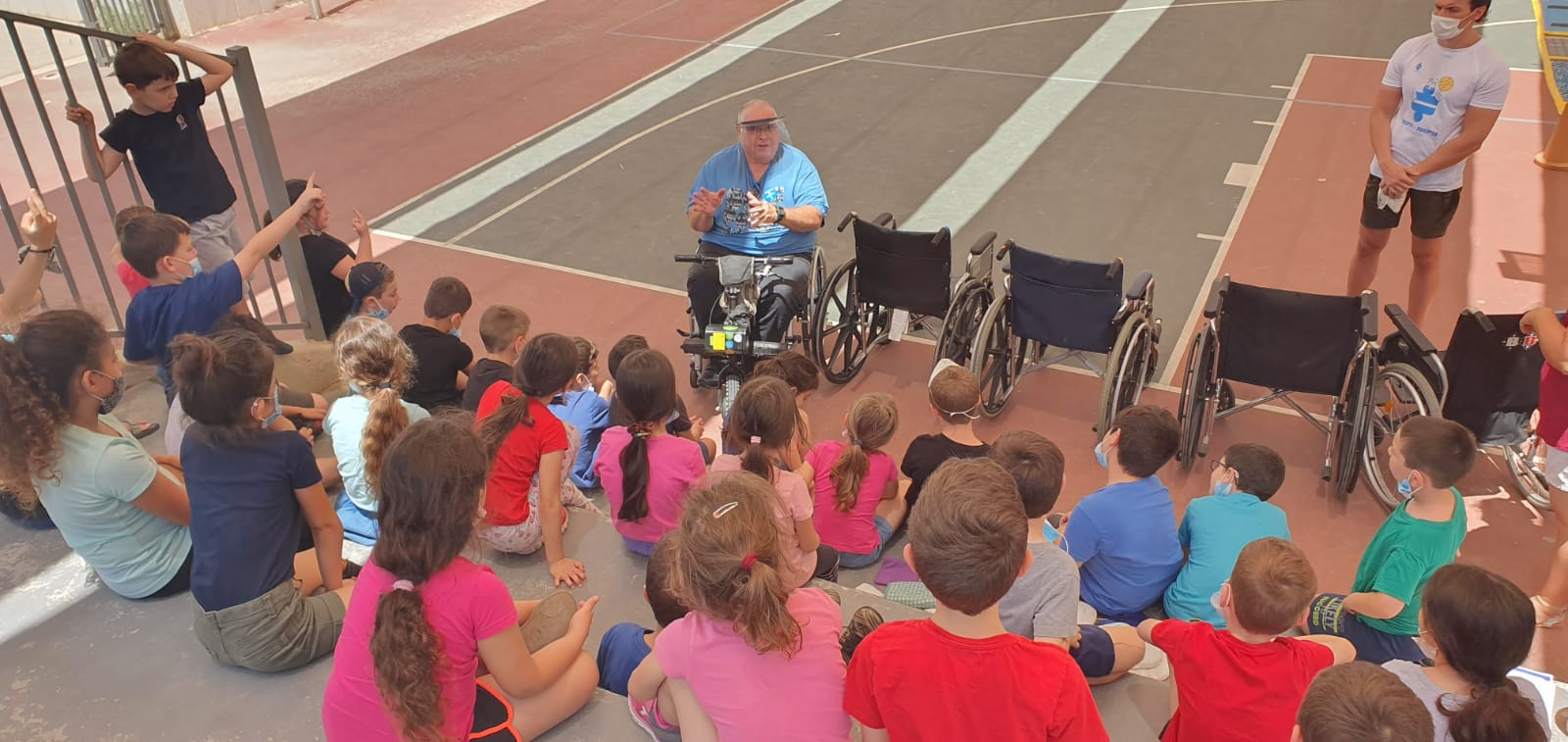 the students met instructors with physical disabilities