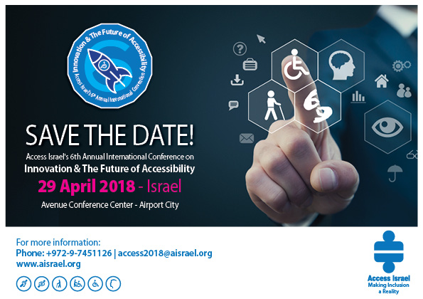 Access Israel 's 6th Annual International Conference - link to an accessible text is at the top of the page