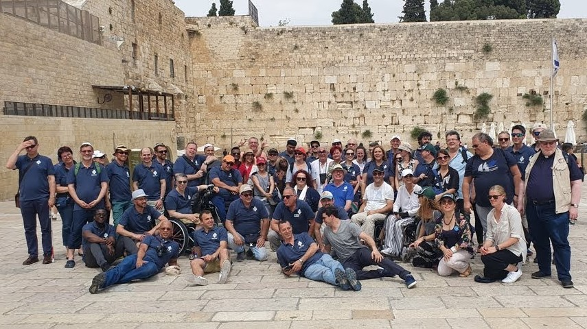 Attendees of Access Israel's 7th International Conference visit the Western Wall