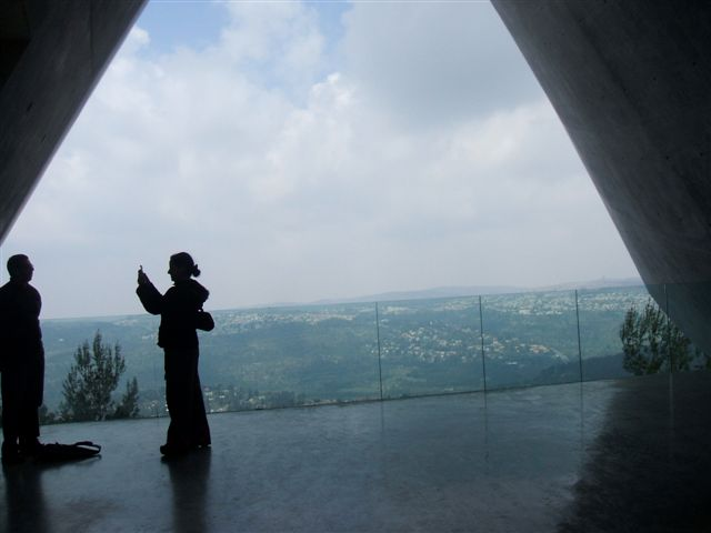 A view of Jerusalem from the Yad Vashem holocaust museum
